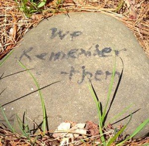 We Remember Them - Poem on Stones_blog