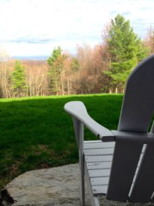 White Chair View from Cheryl's House